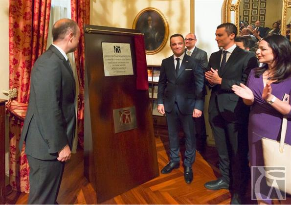 Prime Minister Joseph Muscat at Chetcuti Cauchi office in Valletta